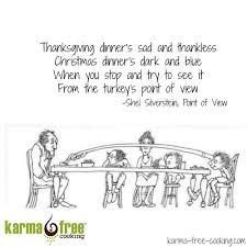 thanksgiving karmafree cooking