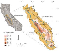 California Aqueduct Map In Her Own Words Usgs Hydrologist Discusses Subsidence In The