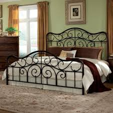 king bed frame with headboard and footboard easy king size bed