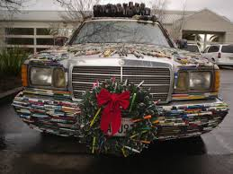 pen covered christmas wreath pen guy art costas schuler art