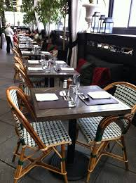 Commercial And Residential French Café Bistro Chairs Made In