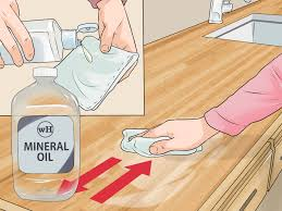 what should you use to clean wooden kitchen cabinets 3 ways to clean wood countertops wikihow