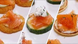 canapé saumon les astuces picard 3 idées autour des canapés de saumon