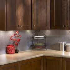 Diy Metal Backsplash I Made The Backsplash Out Of Galvanized - Stainless steel backsplash lowes