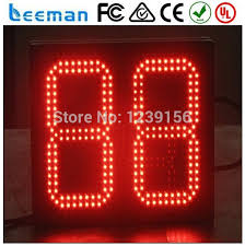 2 digits led countdown timer clock countdown billboard display