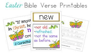 easter bible printables
