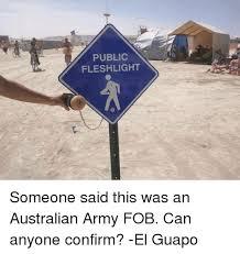 Fleshlight Meme - public fleshlight someone said this was an australian army fob can