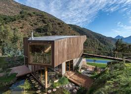 contemporary home in a natural reserve in chile