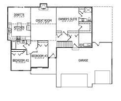 Split Floor Plan by Split Bedroom Floor Plan Valine