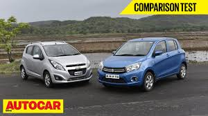 opel india maruti celerio diesel vs chevrolet beat diesel comparison test