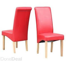 Red Leather Kitchen Chairs - red leather kitchen chairs photo u2013 1 u2013 kitchen ideas
