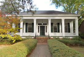 Southern Style Homes by Eufaula Alabama The Bray Barron House Classic Style Southern