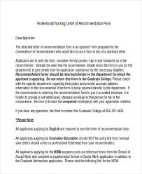 recommendation letters sample recommendation letter