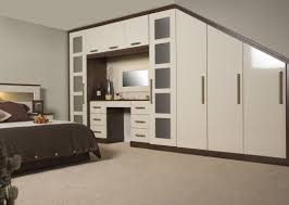 Fitted Bedroom Furniture Sets Cream And Walnut Bedroom Furniture Furniturest Net