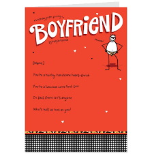 boyfriend birthday card message