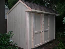 saltbox shed plans diy garden tool roof overhang sided home