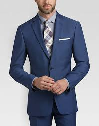 blue postman suit s suits calvin klein s wearhouse