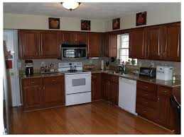 kitchen cabinet refacing ma great room double ovens gray walls white countertops cabinets