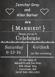 post wedding reception invitations templates cloudinvitation com