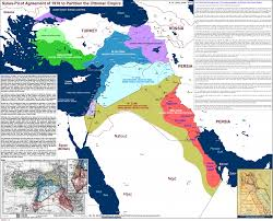 Kurdistan Map Advent And Evolution Of Sykes Picot Secret Agreement In 1916 The