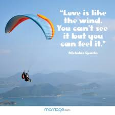 wedding quotes nicholas sparks is like the wind you can t marriage quotes