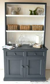 kitchen hutch ideas painted hutch ideas hutch redo acnc co