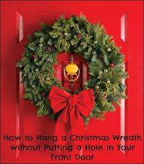 Hang Exterior Door 3 Ways To Hang A Wreath On Your Front Door Without