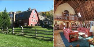 red barn home tour converted barn home from 1900