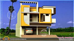 modern duplex house plans modern duplex house in 373 square yards kerala home modern duplex