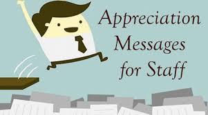 appreciation message best message