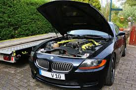 bmw z4 v6 stop what you re doing someone has put an 8 3 litre viper v10 in