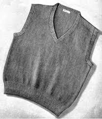 men u0027s sleeveless sweater pattern knitting patterns