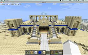 minecraft ferrari desert palace minecraft project