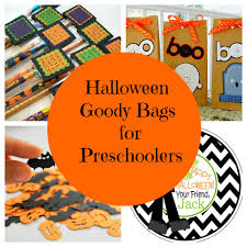 toddler halloween treat bags