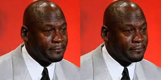 Crying Face Meme - crying jordan face meme makes it to jeopardy hypebeast