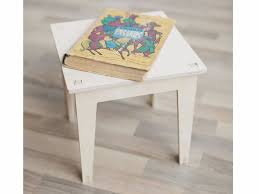 rectangular plywood kids table kidiki kirigami design collection