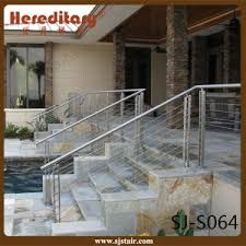 Decking Handrail Ideas China Stainless Steel Outdoor Staircase Deck Handrail Ideas Sj