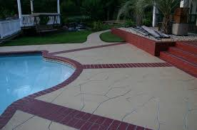 Covering Old Concrete Patio by Concrete Resurfacing Elite Crete Systems