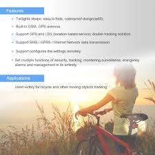 Newest Gps Tracker For Motocross Bike Mini Gps Tracker Electric