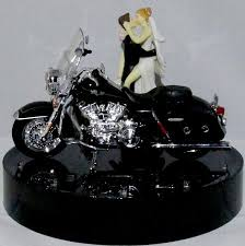 harley cake topper wedding fairytale dreams wedding cake topper lit with 2013 road