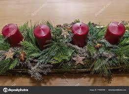 creatively designed creatively designed advent wreath oblong stock photo alho007