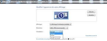Laffichage De Lcran De Mon Pc Est Renvers Rotation Involontaire De L écran Du Pc