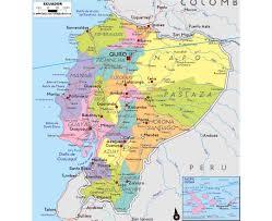 Map Qu Maps Of Ecuador Detailed Map Of Ecuador In English Tourist Map
