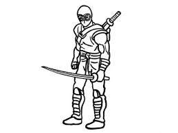 blue ninja coloring pages get this ninja coloring pages for kids bdg51