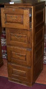 4 Drawer Wood File Cabinets For The Home by File Cabinet Ideas Secure 4 Drawer Wooden File Cabinet For Home