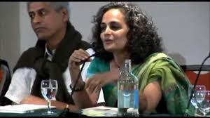 arundhati roy beautifully describes what she loves about india