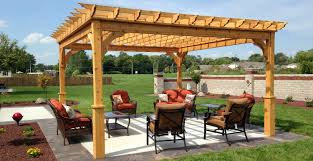 Outdoor Patio Gazebo 12x12 by Pergola Kits Usa Com