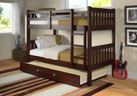 donco kids washington twin over twin bunk bed with trundle