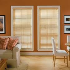Painting Wood Blinds Decor Faux Wood Blinds For Uv Protect And Decor