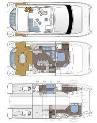Catamaran Floor Plans by Review Horizon Yacht U0027s Pc 58 Catamaran Page 4 Horizon Yacht